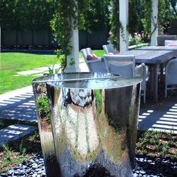 Eclectic outdoor fountains ponds find ponds and garden for 3 cakewalk terrace