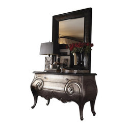 Henry Link - Henry Link Club Moustache Hall Chest and Mirror Set - Henry Link - Accent Chests - 014011951251PKG