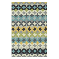 Loloi Rugs - Loloi Rugs Summerton Collection - Grey / Multi, 3' Round - Lay a new foundation to your favorite room with a hand-crafted rug from the Summerton Collection. Hand-hooked in China of 100% polyester, these spirited rugs earn notice through clean design and quality craftsmanship. And whether you're relaxing after a long day or just enjoying a lazy Sunday, the perfectly plush feel is a real treat for your feet. With shapes available in rectangles, small rounds, hearths, and runners, Summerton has a rug - or two - for any room.