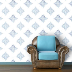 "Moroccan Inspired  Wallpaper 7.5'feet - ""Swag Paper - Empowering the Do-It-Yourselfer:"