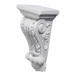 uDecor - CB-1055 Corbel - These corbels are for decorative use only. These should not be used for any structural support.
