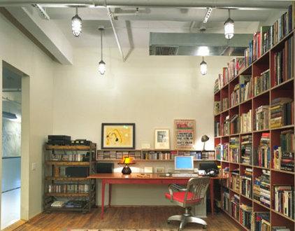 Modern Home Office by Abelow Sherman Architects LLC