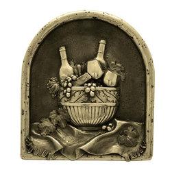 3D Metallic Backsplashes - Wine Delight Backsplash / Bronze Finish:
