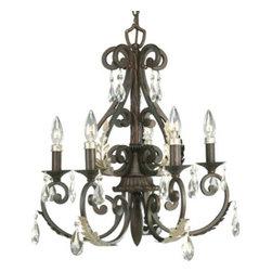 Thomasville Lighting Equinox Collection Burnished Silver 4 Light Foyer Pendan