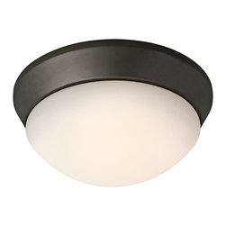 Kichler - Kichler 8880OZFL Ceiling Space 1 Light Fluorescent Flush Mount Indoor Ceiling - Product Features: