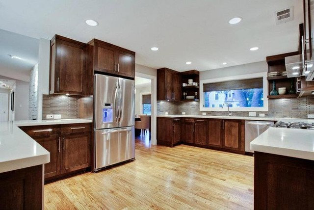Modern Kitchen by ICF Custom Homes