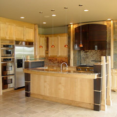 contemporary kitchen by LA Home Builders