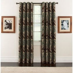 Arlee Home Fashions - Arlee Home Fashions Lyndsay Chenille Leaf Grommet Panel Pair - 29-41473TEA - Shop for Curtains and Drapes from Hayneedle.com! Beautiful and luxurious the Arlee Home Fashions Lyndsay Chenille Leaf Grommet Panel Pair looks gorgeous in any casual or transitional room setting. Made from 100% polyester these drapes feature hand dyed chenille yarns which inject a radiant beautify into the gorgeous leaf pattern. Engineered so every panel matches perfectly these curtains are made with grommets so they easily hang from almost any decorative rod. Additional Features Woven chenille curtains look perfect in any room Woven to help filter outside light Pattern engineered so every panel perfectly matches About Arlee Home FashionsArlee Home Fashions Inc. manufactures and markets household textiles like decorative pillows chair pads floor cushions curtains table linens and pet beds. The company was incorporated in 1976 and is based in New York New York.