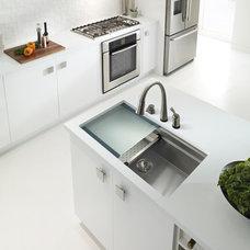 Modern Kitchen Sinks by Houzer