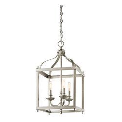 Kichler - Kichler 42566NI Larkin 3-Bulb Indoor Pendant - Product Features: