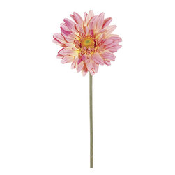 Silk Plants Direct - Silk Plants Direct Large Royal Gerbera Daisy (Pack of 6) - Peach - Pack of 6. Silk Plants Direct specializes in manufacturing, design and supply of the most life-like, premium quality artificial plants, trees, flowers, arrangements, topiaries and containers for home, office and commercial use. Our Large Royal Gerbera Daisy includes the following: