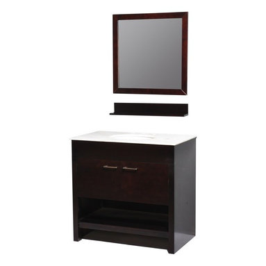 """Belmont Decor ST15-36 """"Auburn"""" single sink bathroom vanity - APPLY COUPON CODE """"EDHOUZ50"""" AT CHECKOUT. JUST OUR WAY OF SAYING THANKS."""