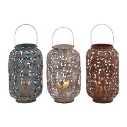 Benzara - Skillfully Crafted Lantern with Stylish and Classy Touch - Skillfully Crafted Lantern with Stylish and Classy Touch. Not just a product of decoration or utility, this traditional lantern is a canvas of skilled artwork and minute detailing. Some assembly may be required.