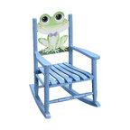 Teamson Design - Teamson Kids Rocking Chair Frog - Teamson Design - Kids Rocking Chairs - W8341A.