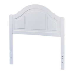 Homelegance - Homelegance Panel Headboard in White - Twin - Twin headboard, white Panel, set to enhance your bedroom with traditional house furniture without the hefty price tag. The aesthetic of the furniture is still conserved while giving the headboard a new look. This classic wood furniture will always have a place in the home whatever season or age it might be.