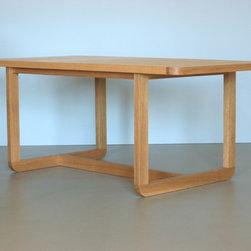 Ease Dining Table - Oak - Jason Lees Design