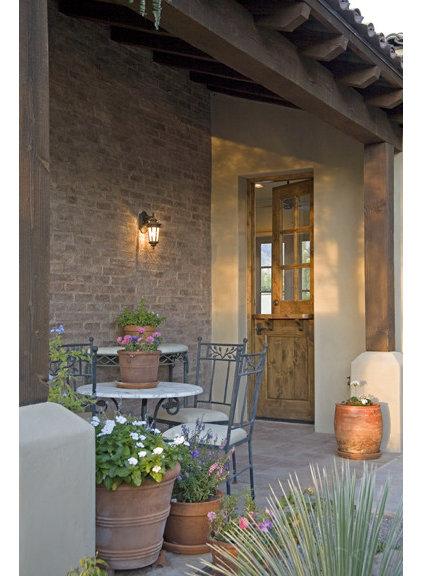 Mediterranean Exterior by Giesen Design Studio LLC