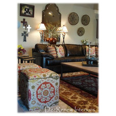 Traditional Family Room by DecRenew Interiors