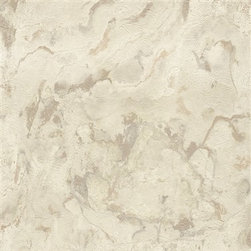 Walls Republic - Gold & Cream Rock Wallpaper R2320 - Rock is a nature inspired pattern with brilliant iridescent detailing. This wallpaper creates trendy texture on your walls perfect for any living or dining room. The texture is highly realistic for a unique faux finish look.