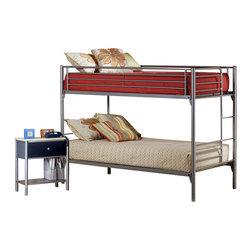 Hillsdale - Hillsdale Universal Youth Metal Bunk Bed 2-Piece Bedroom Set - Hillsdale - Bedroom Sets - 1178012PKG