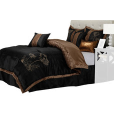 Contemporary Bedding by Blue Nile Mills Inc.