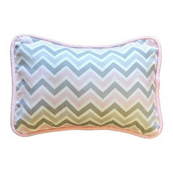 Peace, Love & Pink Throw Pillow