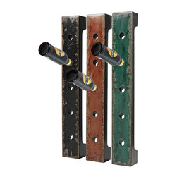 Sterling Industries - Sterling Industries 51-10045 Set Of 3 Wall Hanging Wine Racks - Wine Rack (3)