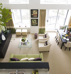 contemporary living room by Maria Killam