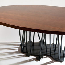 Contemporary Dining Tables by Charles Rose Architects Inc.