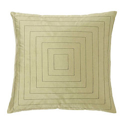 Jiti - Pyramid Sage Pillow - Our Silk Pyramid Sage Pillow will add the perfect touch to your home decor. Perfect for any Room! This pillow is made of 100% Silk with 95% Feather and 5% down. Invisible zipper closure. Dry Clean Only