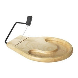 Beechwood Cheese Slicer and Tray