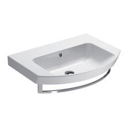 Gsi Rectangular Ceramic Wall Mounted Or Vessel Bathroom