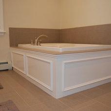Traditional Bathroom by Hazel & Bleu, LLC
