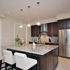 Contemporary Kitchen by 3sixty Space Planning + Design Inc.
