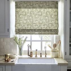 Smith & Noble Flat Fold Roman Fabric Shades - Starting $131+