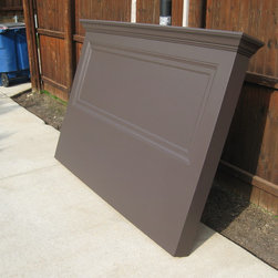 Door Headboards - Starting at $125 these handmade headboards are not available in stores. They feature either old