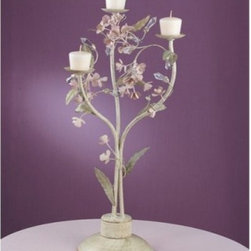 Laura Ashley KBLS1871 Blossom Collection Candle Rack - About Laura Ashley Home Lighting You know the name Laura Ashley ... it stands for classic, beautiful design and quality. Now Laura Ashley Home Lighting brings that classic style to your home with an impressive selection of residential lighting, including a broad range of lamps and lamp shades, a lively assortment of unique mini-chandeliers, and distinctive home lighting collections. Each piece embodies the English influence of Laura Ashley, while bringing classical elegance to modern design.