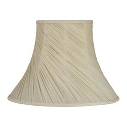 Laura Ashley - Laura Ashley Classic 13 in. Cream Bell Shade SFW613 - Shop for Lighting & Fans at The Home Depot. Founded in 1953, Laura Ashley has become a quintessential English brand, synonymous with quality, creativity, and individuality. Laura Ashley products are recognized worldwide for their colorful patterns and iconic floral prints. This cream Laura Ashley lamp shade is made of faux silk, and will be a vibrant addition to any room.