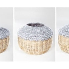 Contemporary Baskets by digsdigs.com
