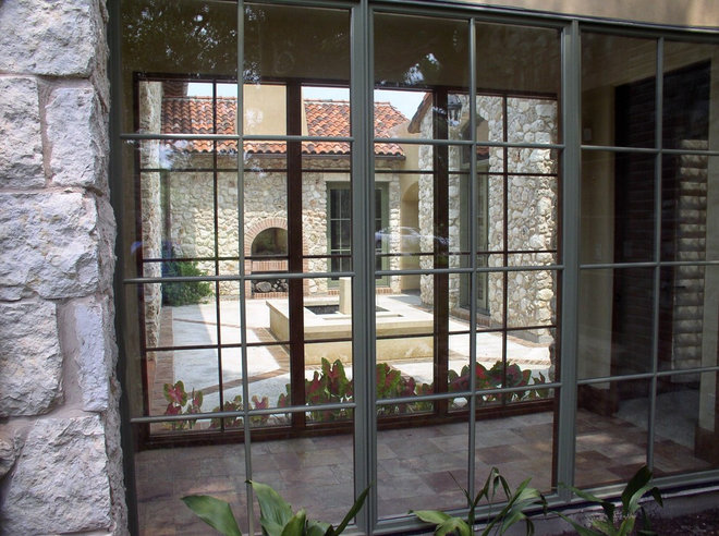 Mediterranean Windows by Rick O'Donnell Architect