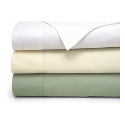 Fresh Slumber - Fresh Slumber Temperature Regulating 400 Thread Count Sheet Set King Ivory - Sleep comfortably with the Fresh Slumber sheets with advanced climate control technology. This sheets reduces humidity, making for a dryer sleeping environment. the technology traps moisture and eliminates it much more quickly than a standard wicking fabric, leading to increased comfort and less odor retention. This technology allows the sheets to be washed less often, and it will also dry more quickly after being washed