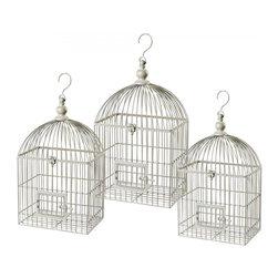Sterling Industries - Vintage Decorative Bird Cage - Vintage Decorative Bird Cage