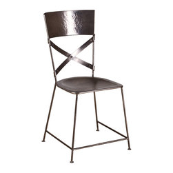 Jabalpur Dining Chair Antique Nickel - Product Features: