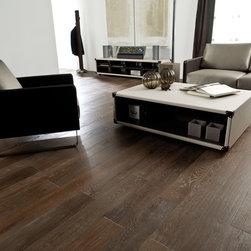 Hardwood Floors - Oak: Long format, engineered, natural oil finish, 3-6mm wear layer.