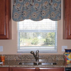 Contemporary Curtains Brighten up your kitchen!