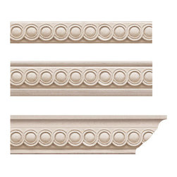 Moldings, Trim & Brackets - Bijou Molding Insert Only: There are many options out there for wooden molding inserts, but only a few offer beautiful designs that are pleasing to the eye. This molding insert is definitively in the latter category.