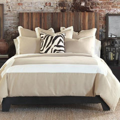 contemporary bedding by J Brulee Home