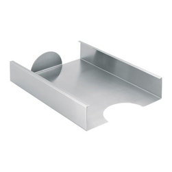 Blomus - AKTO Filing Tray by Blomus - The Blomus AKTO Filing Tray provides a tidy solution to the problem of work paper management while sprucing up the environment with its contemporary finish. The AKTO Filing Tray was designed by J.R. Schebendach and features a stainless steel body.Blomus, headquartered in Germany, specializes in the design and manufacture of beautifully engineered home and office accessories in modern stainless steel styles.The Blomus AKTO Filing Tray is available with the following:Details: