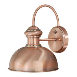 Vaxcel - Franklin Copper Outdoor Wall Mounted Light - Franklin  Copper Outdoor Wall Mounted Vaxcel - T0015