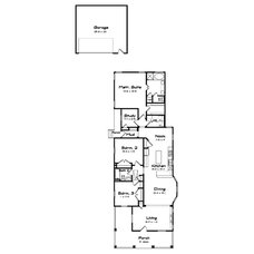 Traditional Floor Plan by Creative Architects